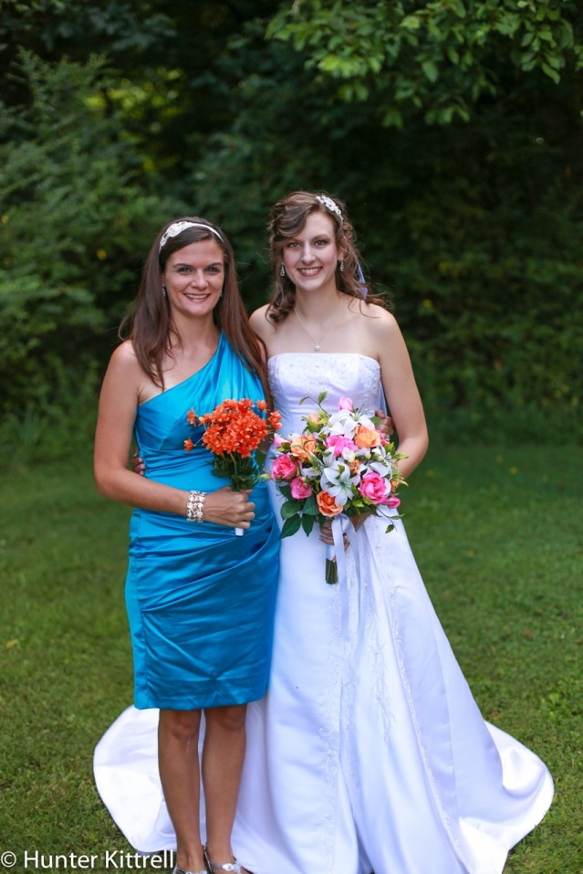 My with my new sister-in-law Kirsten.
